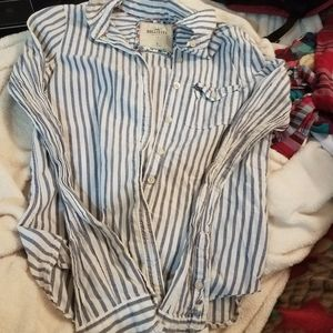 Hollister button-up